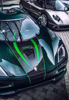 Koenigsegg Agera & Pagani Zonda