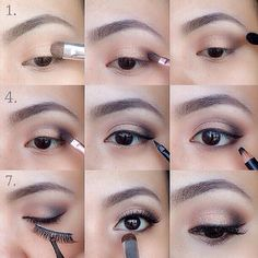 Beautiful, Natural Step By Step Eye Makeup Tutorial
