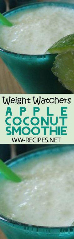 Weight Watchers Apple Coconut Smoothie Recipe