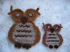 owl applique ~ free pattern