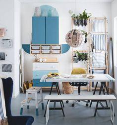 Catálogo IKEA 2015. Very creative, this space.