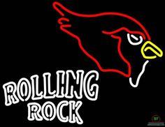 Rolling Rock Arizona Cardinals Neon Sign NFL Teams Neon Light