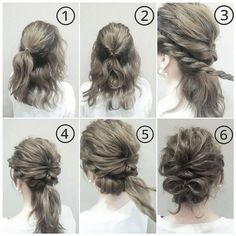 Beautiful Bowknot Hair Styles shared by Fashion. Up Hairstyles, Pretty Hairstyles, Viking Hair, Hair Up Styles, Hair Arrange, Pinterest Hair, Great Hair, Amazing Hair, Bridesmaid Hair