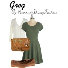Over the Garden Wall - Greg by princessmay on Polyvore featuring MINKPINK, Børn, Fat Face, Buccellati and By Emily