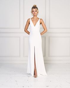 Blake by Jane Hill Bridal Moroccan Rose 2019 Collection Jane hill wedding gowns modern wedding dresses modern minimalist wedding dress minimalist wedding dress fashion. Wedding Dress Black, Indie Wedding Dress, Black Satin Dress, Muslim Wedding Dresses, Western Wedding Dresses, Wedding Dress Trends, Wedding Dress Shopping, Elegant Wedding Dress, Satin Dresses
