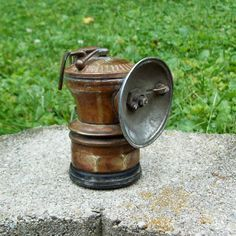 Antique Vintage Brass Auto Lite Carbide Lamp by Raidersoflostloot, $29.50