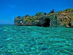 Cote de Fer, Haiti. Turquoise waters, beautiful.