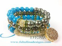 Blue Pyrite #Bling!