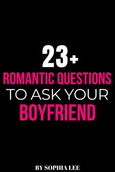 I love finding questions to ask my boyfriend to make our relationship even stronger. These romantic questions to ask your boyfriend started some really good conversations. Highly recommend using these!