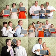 Photobooth guestbook! I am SO doing this!! Makes your guestbook much more personable!