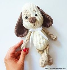 Mesmerizing Crochet an Amigurumi Rabbit Ideas. Lovely Crochet an Amigurumi Rabbit Ideas. Crochet Amigurumi, Amigurumi Doll, Crochet Dolls, Crochet Dog Patterns, Doll Patterns, Amigurumi Patterns, Crochet Quotes, Crochet Patron, Love Crochet