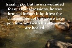 Healing by His Stripes