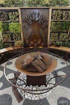 Garden Art Ideas by Paal Grant Designs in Landscaping
