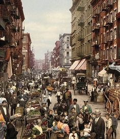 - The first color photographs of the United States...
