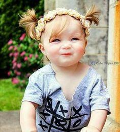 Una preciosa niña