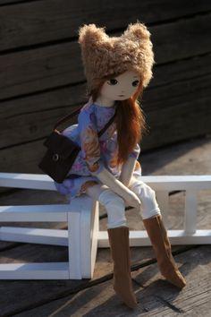 Tea – roma bieszczadzka, handmade doll by romaszop