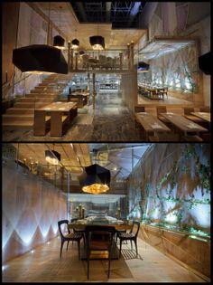 Morimoto Restaurant Interior Design in Mexico City   Designed by Schoos Design