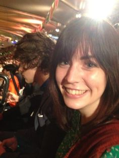 Photo tweeted by Anne mom of Harry Styles of him and his sister at the Olympics during the Spice Girls performance