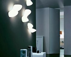 Foscarini blob wall lamp