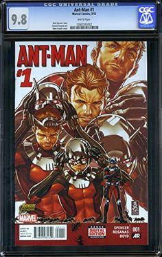 Ant-Man #1 - CERTIFIED CGC 9.8 @ niftywarehouse.com #NiftyWarehouse #Antman #Ant-man #Movie #Marvel #Comics #ComicBooks #Avengers #TheAvengers
