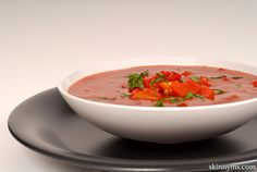 When it comes to nutrition the red bell pepper is the king of bell peppers. Simply blend up your peppers with cashews and water for a delicious raw red pepper soup. Red Pepper Soup, Stuffed Pepper Soup, Stuffed Peppers, Bell Pepper, Best Soup Recipes, Raw Food Recipes, Cooking Recipes, Healthy Recipes, Veggie Recipes