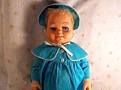 Chatty Baby ----still have this doll with all it's clothes!!!!  Love her!!! SHE IS THE DEVIL!!!!