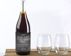 A personalized wine wedding favor is simple with Kate Aspen's Eat, Drink & Be Married Personalized Wine Bottle Labels! All you need to do is take off the original bottle labels, replace them with your personalized labels, and you've got yourself a wedding favor perfect for commemorating your celebration. Not [...]