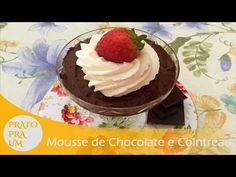 Prato Pra Um - Mousse de Chocolate e Cointreau Pra Um