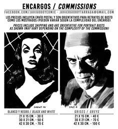 El blog de Javi Godoy: ENCARGOS / COMMISSIONS