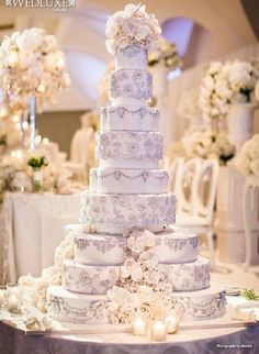 12 best over the top wedding cakes images on Pinterest | Cake ...