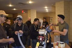 Dave and Hector manning the Bug Off booth — at DoubleTree by Hilton Fort Lee.