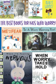 25 awesome worry books for kids - perfect for helping children learn to identify worries, their causes, and positive strategies for managing anxiety. Very Best Books for Kids Who Worry Social Emotional Learning, Social Skills, Coping Skills, Life Skills, School Social Work, Helping Children, Children Play, Help Kids, Preschool Books