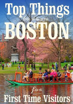 Top Things To Do In Boston For First Time Visitors | As one of the most popular vacation destinations in the United States, Boston is a city filled with history, culture, attractions and so many unique points of interest. When you're planning your first trip to Beantown, be sure to include these activities in your travel itinerary.