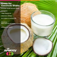 While we can't speed up summer, we can help you make a delicious coconut inspired drink to transport you to a tropical island