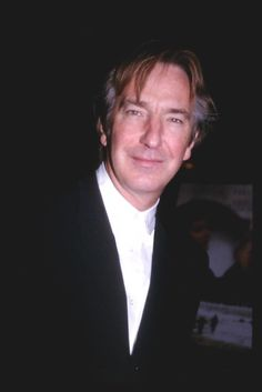 "January 8, 1998 - Alan Rickman at a premiere of ""The Winter Guest."""