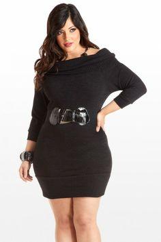 90edaa91afb 115 Delightful Sweater Dresses  Plus Size images