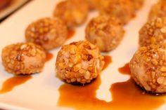 Cocinamisrecetas: Bombones de foie con crujiente de almendra y Pedro Ximenez