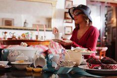 """""""A royal Christmas tea"""" un tè tra amiche per scambiarsi regali molto speciali, Event designer Cecilia Cairoli F.E.A.D. photo Alfonso Dalla Corte"""