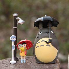 Fairy Garden Accessories set of 4 My Neighbor Big by RukawaBeads