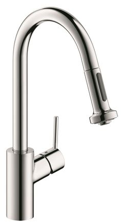 Talis S 2 Prep One Handle Deck Mounted Kitchen Faucet with 2 Spray Pull Down