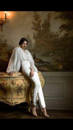 "Julia Davidian ""Secret of memories"" collection photographed by Ekaterina Belinskaya styled by Alisa Gagarina Spring/Summer 2015 #Baroque #Fashion fairytale"