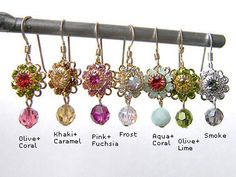 Mini Fleur by Objets d'Envy, handcrafted Swarovski crystal jewelry