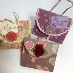 Make a Nice Handbag-Shaped Greeting Card