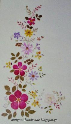 Αποξηραμένα λουλούδια και διακόσμηση
