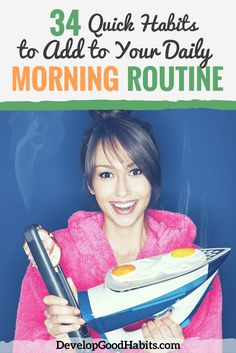 Daily Morning Routine Habits for an Amazing Start to Your Day