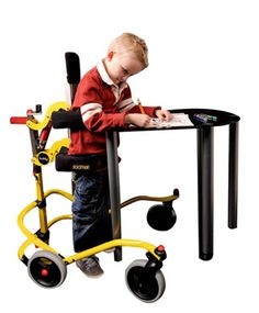 The Buddy Roamer is more than just a walker! It's a posterior walking aid that provides partial weight bearing postural support with mobility.The ergonomically designed frame supports body weight while allowing the child to walk around freely and unaided.