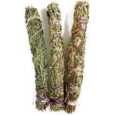 Powerful Australian Smudge Stick Made in Australia from Lavender, Eucalyptus, Tea Tree and Cypress. Each smudge stick is approximately 25cm length. Only $16.95