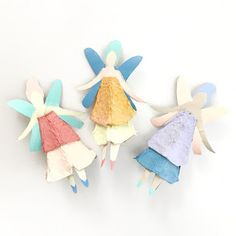 This Fairy Day, bring magic into your life and home by making these fantastic fairy crafts for kids! Perfect to play with or to gift your friends! Toddler Crafts, Crafts For Kids, Arts And Crafts, Paper Crafts, Projects For Kids, Diy For Kids, Mobiles Art, Fairy Templates, Egg Carton Crafts