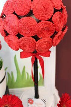 Lovebug Ladybug Birthday Party Ideas Planning Idea Supplies Cake