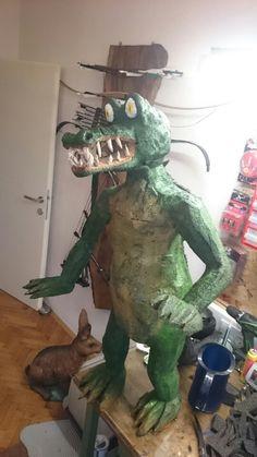 Kroko Dinosaur Stuffed Animal, Toys, Animals, Diy, Animales, Animaux, Gaming, Games, Animais